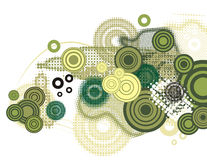 Circle background series Stock Image