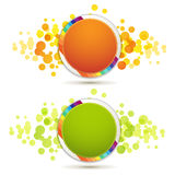 Circle backgrounds Royalty Free Stock Image