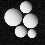 Circle banner vector illustration background Stock Photography