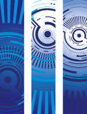 Circle banners Stock Image