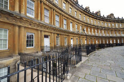 Circle in Bath. Famous circle / circus in bath, Somerset,  England Royalty Free Stock Photography
