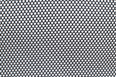 Circle black net. On white background Stock Image