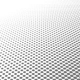 Circle  black and white halftone dots texture background for abstract pattern and graphic design Royalty Free Stock Images