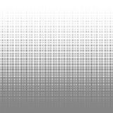 Circle black and white halftone dots texture background for abstract pattern and graphic design Stock Image