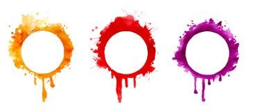 Circle bleed Stock Photo