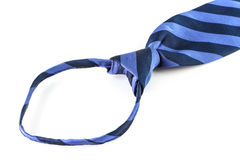 Circle of Blue neckties Stock Photo