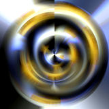 Circle in blurred hues, abstract image Royalty Free Stock Photography