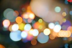 Circle blurs Stock Images