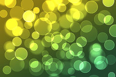 Circle bokeh. Color abstract shape Stock Images