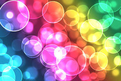 Circle bokeh Royalty Free Stock Photos