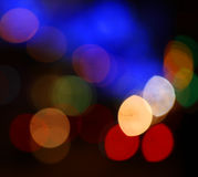 Circle bokeh color stock image