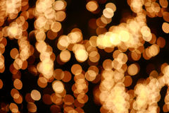 Circle bokeh light Stock Images