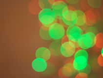 Circle bokeh Stock Photography
