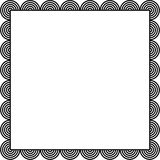 Circle border Stock Photography