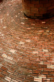Circle Brick platform Royalty Free Stock Photo