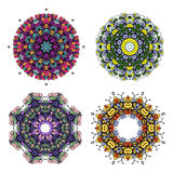 Circle bright colorful ornament Royalty Free Stock Image