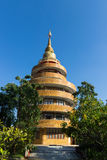 Circle building with the pagoda on top Stock Image