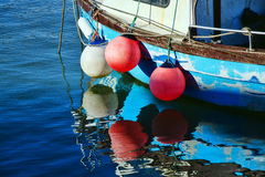 A Circle Of Buoys Stock Image