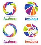 Circle business logo Stock Image