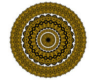 Circle celtic ornament in medieval style royalty free illustration