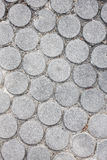 Circle cement for pattern background. Stock Image