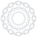 Circle chain Royalty Free Stock Photos