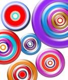 Circle within circle. Created circle Vector Illustration