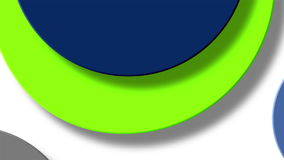 Circle color stock video