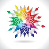 Circle Colorful Elements Stock Images