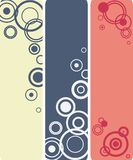 Circle compositions banners Stock Photos
