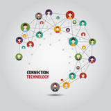 Circle Connection Royalty Free Stock Photo