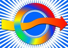 Circle Connections Stock Photography