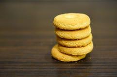 Circle cookies Stock Photo