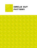 Circle Cut Pattern Royalty Free Stock Photography