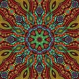 Circle decorative ornamental pattern Stock Image