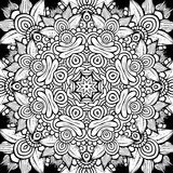 Circle decorative ornamental pattern Royalty Free Stock Photos