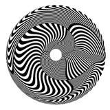 Circle design element. Stock Photo