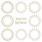 Circle design element Royalty Free Stock Photo