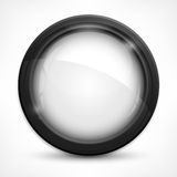 Circle Design Elements On White Stock Photography