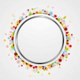 Circle design with shiny light Stock Photo