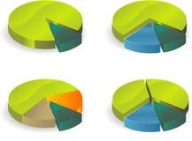 Circle diagram Royalty Free Stock Photo