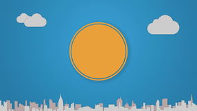 Circle diagram animation for topic introduction or explanation in Powerpoint presentations 1