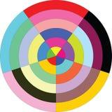 Circle diagram Royalty Free Stock Image