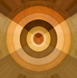 Circle of different wood samples Royalty Free Stock Photography