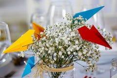 Wedding Decoration Table Set Stock Image