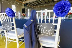 Wedding Decoration Table Set Stock Images