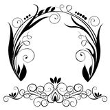 Circle element vector. Decoration element vector nature stylisch abstract designe Royalty Free Stock Photography