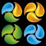 Circle elements Stock Photo