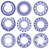 Circle Elements Pattern Royalty Free Stock Photos