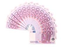 Circle of Euro Royalty Free Stock Photos